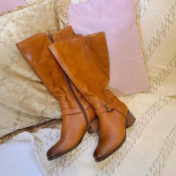 NATURALIZER Kalina Tall Wide Calf Boots